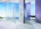 Glass Screen Shower Bathroom