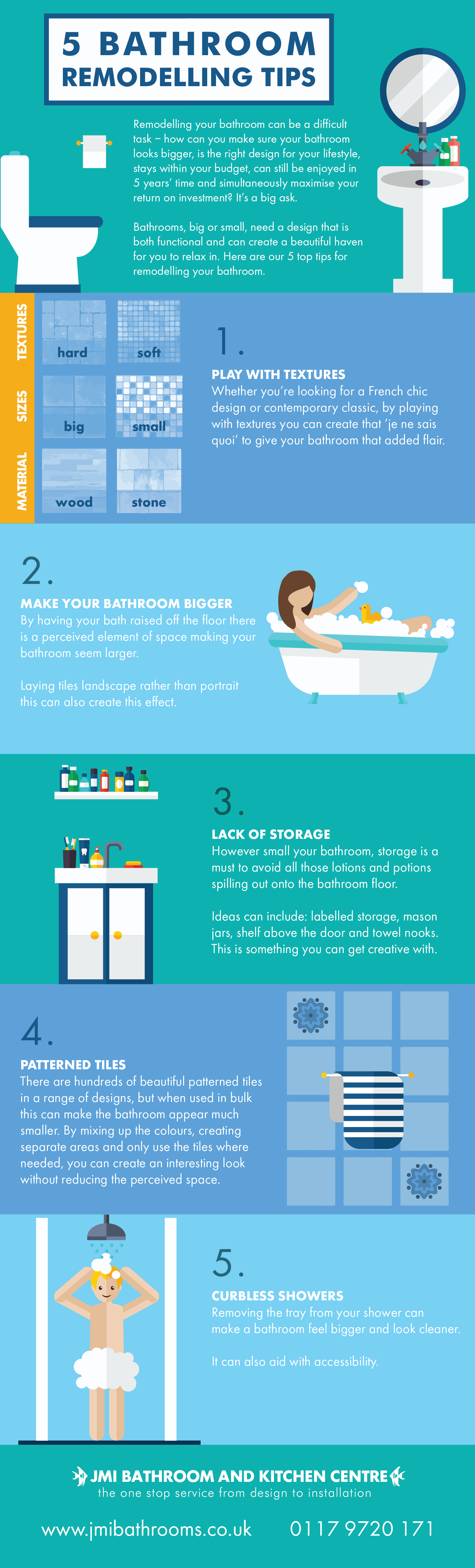 5 design tips for your bathroom