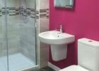 Stylish Bathroom Bristol Pink