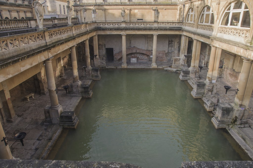 Ancient Roman Baths, Bath, Somerset, England